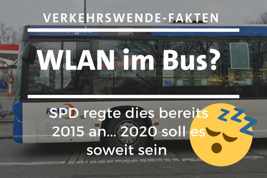 WLAN im Bus: 2015 von der SPD beantragt, 2020 endlich umgesetzt?